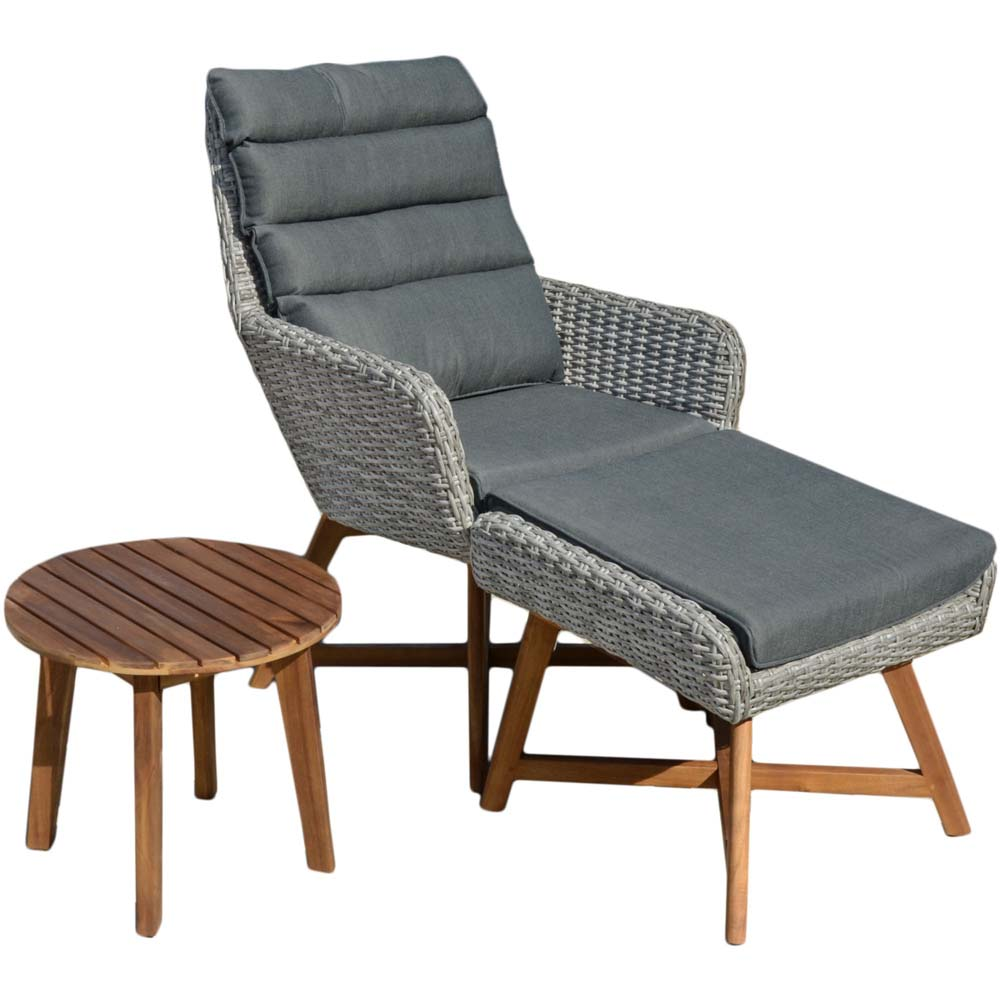 Loungemöbel - Lounger Set, grau, Harms CALVIA  - Onlineshop ETC Shop