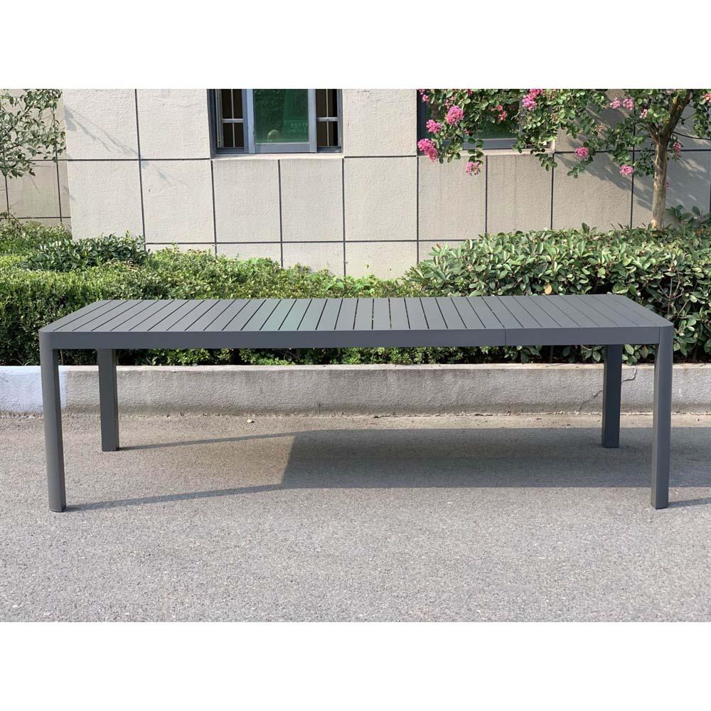 Gartentische - Ausziehtisch AMIRA, Aluminium, LxBxH 195 240x100x75cm  - Onlineshop ETC Shop