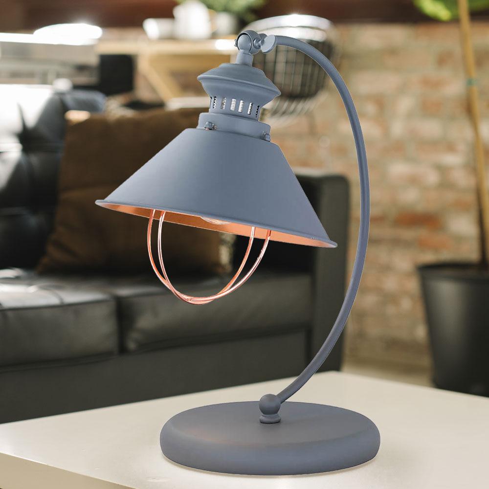 RETRO Schreib Tisch Leuchte Ess Zimmer Gelenk Nacht-Licht Lampe Spot verstellbar