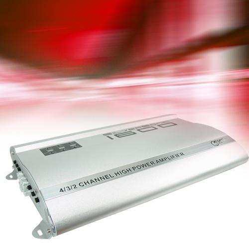 1600 Watt Auto Endstufe SilverSonic 1600 – Bild 2