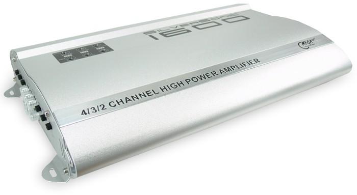 1600 Watt Auto Endstufe SilverSonic 1600 – Bild 1