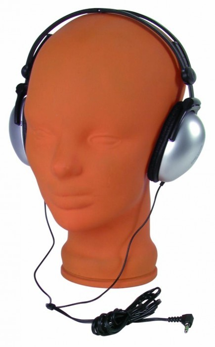 Faltbarer DJ Kopfhörer Ohrhörer Musik Omnitronic SHP-250 – Bild 2