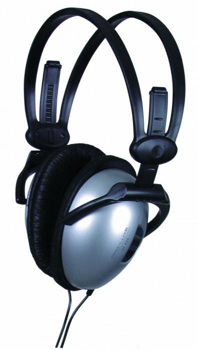 Faltbarer DJ Kopfhörer Ohrhörer Musik Omnitronic SHP-250
