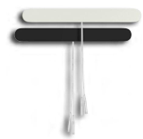 AdvanTrode Premium Silber lange Spinal-Elektroden Tens 2mm Anschluss – Bild 2