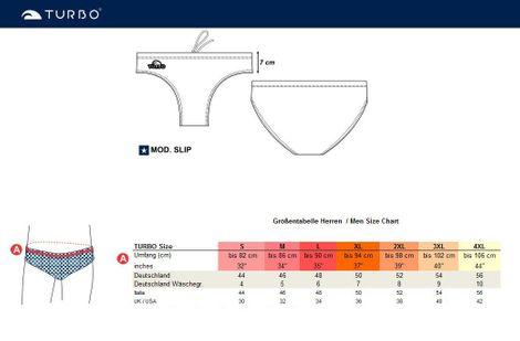 TURBO Badehose Herren CIRCLE Triathlon Schwimmhose Bunt – Bild 6