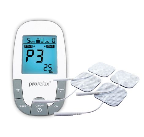 Prorelax 94039 Tens Plus EMS Super Duo 2 Therapien mit einem Gerät