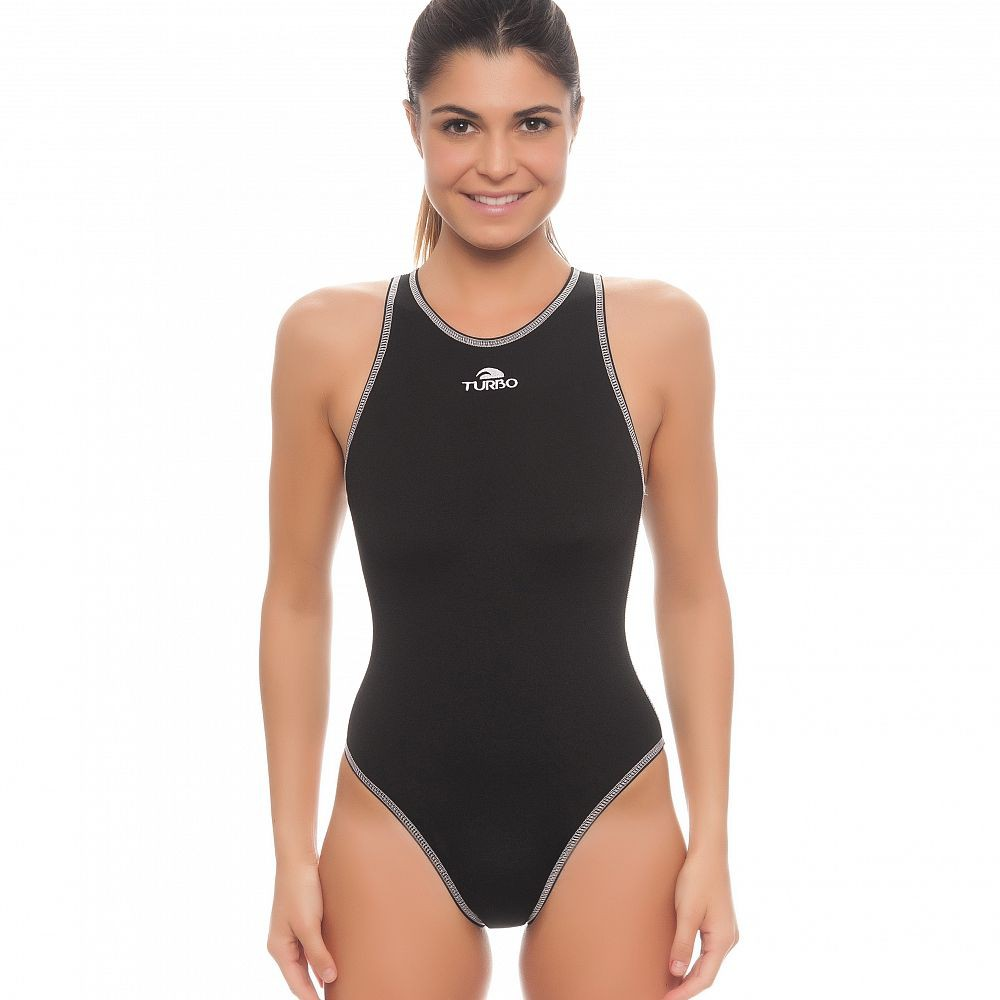 0bb295139 TURBO Waterpolo Waterpolo Swimsuit Ladies black suit