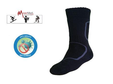 MoserMed Sport Funktions-Socken extra warm mit Merino Wolle