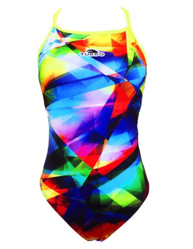 TURBO Badeanzug Damen DIAMOND RELAX Sportbadeanzug mit integriertem BH