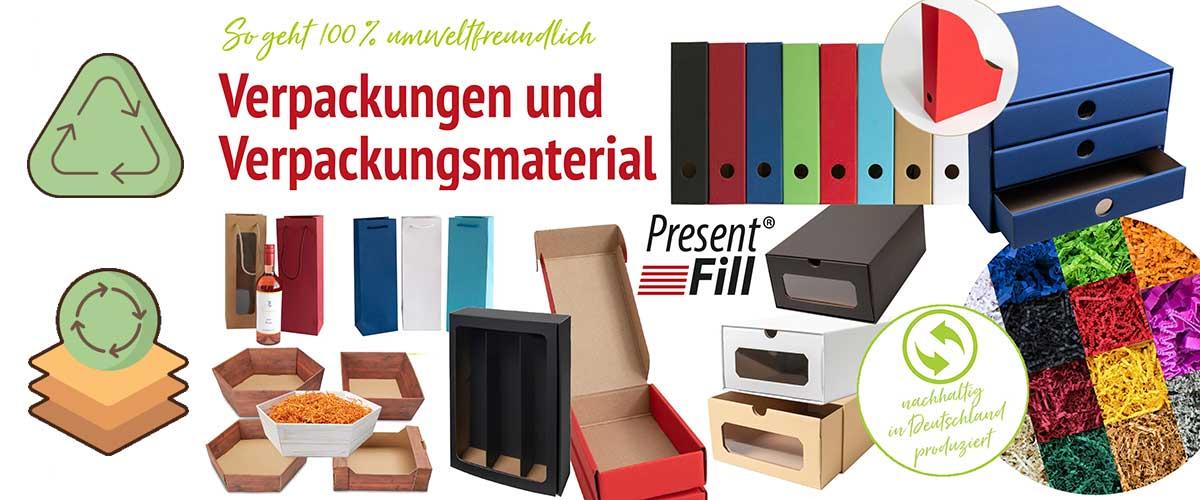 Nachhaltigkeit Verpackungen & Verpackungsmaterial