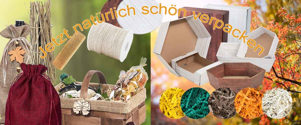 nachhaltig & umweltfreundlich verpacken