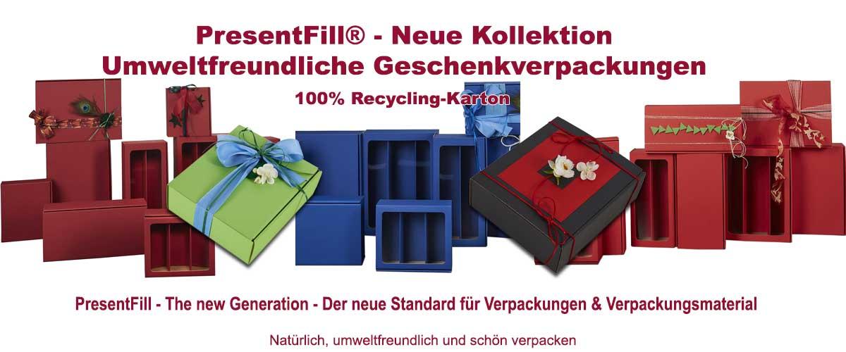 Umweltfreundliche Geschenkverpackungen von Presentfill
