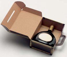 Tragepräsentkarton Koffer für 1 Bocksbeutel oder 3 Piccolo 25 Stück – Bild 2