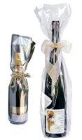 Flaschentüte Transparent Magnum Wein/Sekt, 50 Stück 200 x 620 mm