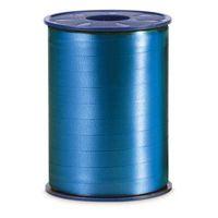 Geschenkband Ringelband Standard blau 250 m x 10 mm