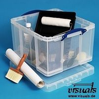 Really Useful Box 42 Liter transparent mit Deckel