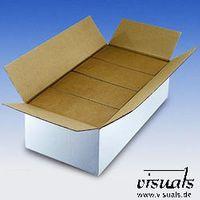 Versandkarton Wellpapp-Faltbox für CD weiß 545x270x153 mm VE: 20 St.