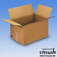 Wellpapp-Faltbox 341x232x260 mm Innenmaß 25 Stück Sammelbox