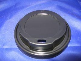 Deckel für Kaffeebecher in schwarz 80mm 1.000 Stück