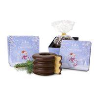 Kundengeschenk Baumkuchen in Weihnachtsdose
