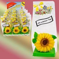 Marzipan Sonnenblume VE 12 Stück Edelmarzipan je Stück 35 g