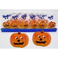 Marzipan Halloween Kürbis VE 24 Stück Edelmarzipan je Stück 40 g