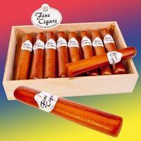 Marzipan Zigarren in Holzkiste VE 16 Stück Edelmarzipan je Stück 65 g
