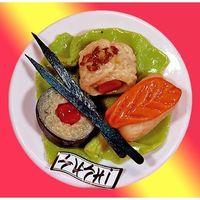 Marzipan Sushi-Platte VE 12 Stück Edelmarzipan je Stück 95 g