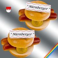 Marzipan Nürnberger in Semmel VE 20 Stück Edelmarzipan je Stück 75 g