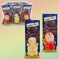 Marzipanfiguren Sortiment Frohes Fest 3-fach sort. VE 12 Stck je 25 g