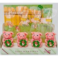 Marzipan Party Schwein in Cliptüte VE 25 Stück Edelmarzipan je 25 g