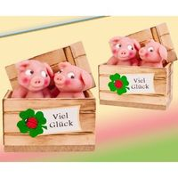 Marzipanfiguren in Schweinekiste VE 8 Stück je 50 g