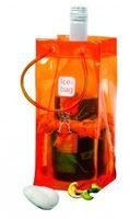 Ice-Bag® 6er Pack Orange - Weinkühler - Sektkühler - Flaschenkühler – Bild 2