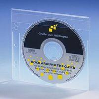 CD-Einhefter aus PP, Klappe VE: 25 Stück