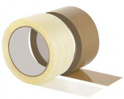 PP Packband Eco 50 mm x 66 m, braun VE 6 Stück