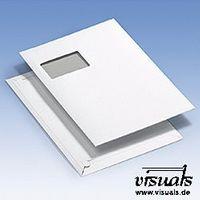Kartonversandt. C4 Folienfenster VE:250, 230 mm x 324 mm Innenmaß