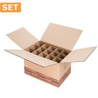Flaschenversandkartons Flaschenverpackung Wein 15er DHL/PTZ 15 Stück