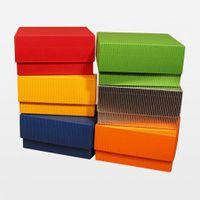 Geschenkbox 152 x 135 x Boden 76 / Deckel 50 mm rot 25 Stück