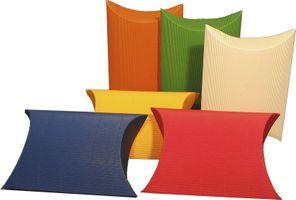 Kissenverpackungen 190 x 170 x 70 mm groß sonnengelb 50 Stück – Bild 1