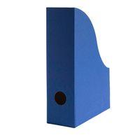 Stehsammler für DIN A5 Format aus Recyclingkarton in Saphir Blau – Bild 1