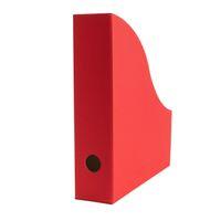 Stehsammler für DIN A4 Format aus Recyclingkarton in Rubin Rot – Bild 1