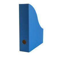 Stehsammler für DIN-A4 aus Recycling Karton in Saphir Blau – Bild 1
