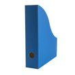 Stehsammler für DIN-A4 aus Recycling Karton in Saphir Blau