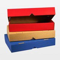 Klappdeckelboxen blau DIN A5 25 Stück