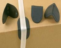 Kantenschutzecken mit Dorn bis 19 mm Bandbreite, VE 2000 St.