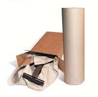 Stopfpapier 50 cm x 300 m 70g/m², grau