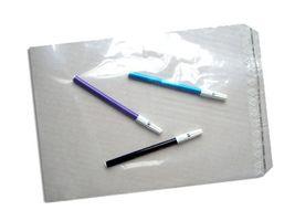 Plastikbeutel mit Haftklebeverschluss 220x300+30mm LDPE 70µ, 1000 St