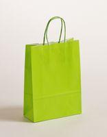 Geschenktaschen Papiertragetasche Apfelgrün 18 x 8 x 25 cm VE 300 Stck – Bild 1