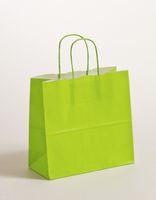 Geschenktasche Papiertragetaschen Apfelgrün 25x11x24cm VE 250 Stück – Bild 1
