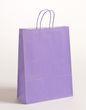 Papier Tragetaschen Violett Hochformat 32x13x42,5cm VE 250 Stück